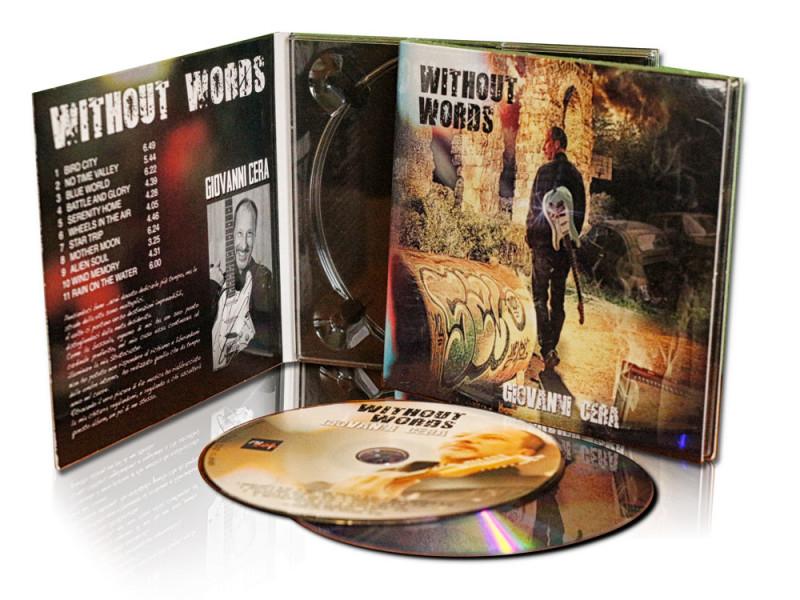 Grafica Cover cd musicale